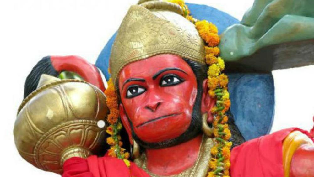 Lord Hanuman's 72 Feet High Octa-Metal Statue Built in Indore