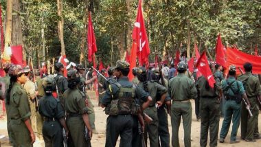 Jharkhand: Maoists Blow Up BJP Election Office in Palamau District