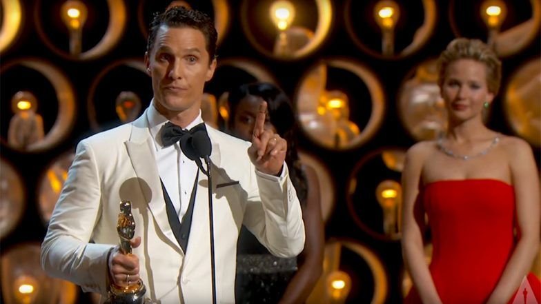 Oscars 2019: From Sir Laurence Olivier, Matthew McConaughey to Lupita Nyong'o and Frances McDormand, Watch Videos of Best Speeches of All Time in Academy Awards History