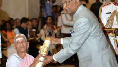 V Nanammal Receives Padma Shri; The 99-Year-Old Yoga Practitioner Continues to Follow A Lifestyle Close to Nature