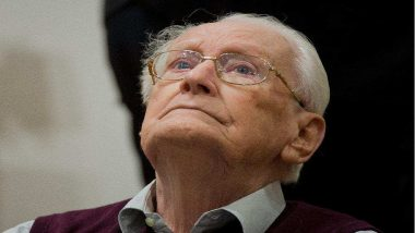 'Bookkeeper of Auschwitz' Dies Aged 96, Was Never Incarcerated