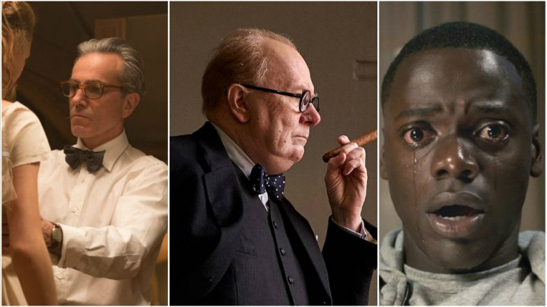 Gary Oldman takes the Oscar for his performance as Winston Churchill