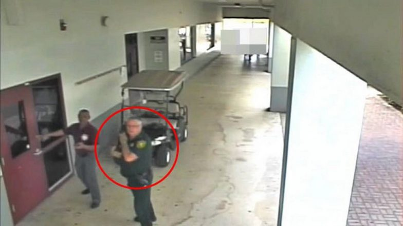 Video shows deputy didn't enter school while gunman killed 17