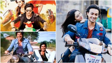 From Amitabh Bachchan in Sholay, Shah Rukh Khan in Chennai Express to Aayush Sharma in Loveratri, Let's Talk About Bollywood Hero's Aversion to Wearing Helmets