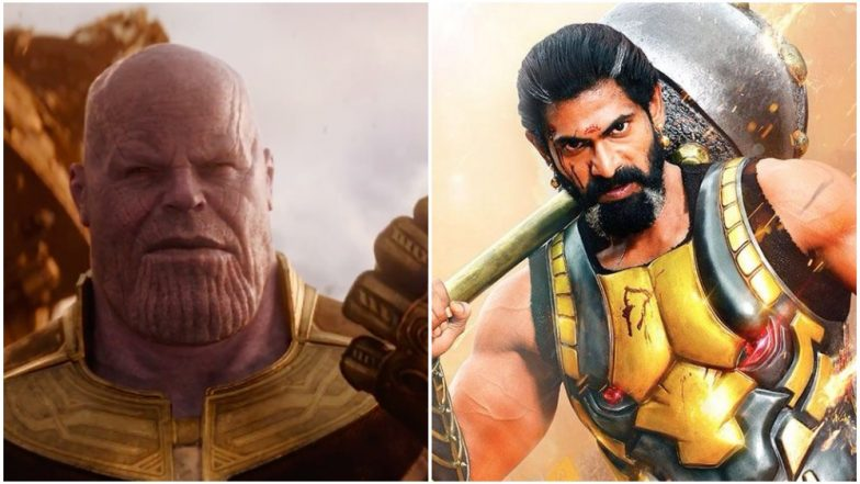 Avengers: Infinity War's Thanos Gets His Voice For The Telugu Version in Baahabuli's Bhallaladeva aka Rana Daggubati