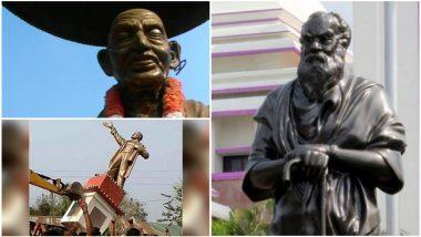 Statue of Mahatma Gandhi Damaged in Kannur! After Lenin, Periyar, Syama Prasad Mookerjee & Gandhi Who's Next?