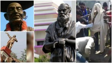 Attacks on Statues Continue! This Time Dalit Icon Dr BR Ambedkar's Statue Vandalised in Haridwar