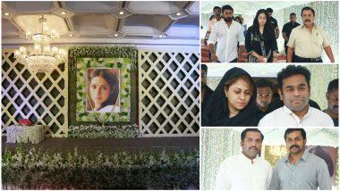 Suriya, Jyothika, Prabhu Deva, AR Rahman, Karthi Pay Respect to Sridevi At Her Prayer Meet; Rajinikanth, Kamal Haasan Give It A Miss - View Pics