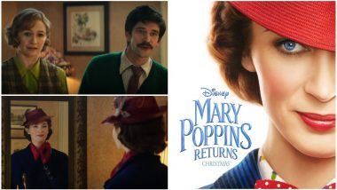 Mary Poppins Returns Teaser Trailer: Emily Blunt Arrives from the Skies As Our Favourite Guardian Angel