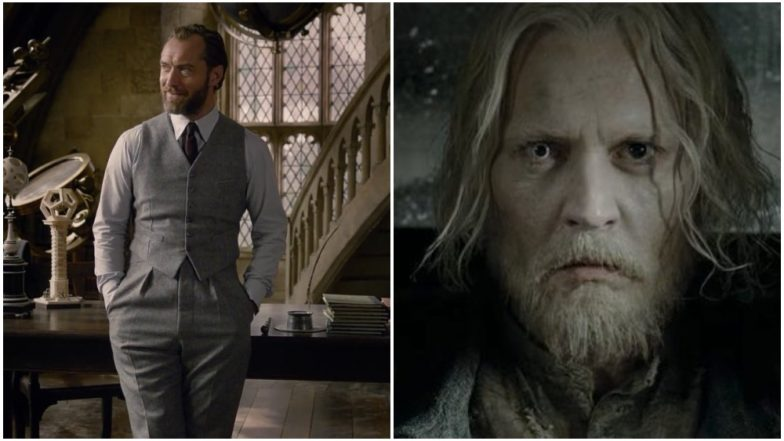 Fantastic Beasts The Crimes of Grindelwald Trailer Jude Law as A Handsome Dumbledore and a Creepy Johnny Depp Steal The Spotlight From All The Creatures