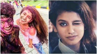 After That Viral 'Wink', Priya Prakash Varrier Plays Holi With Her Oru Adaar Love Co-star Roshan Abdul Rahoof - Watch Video