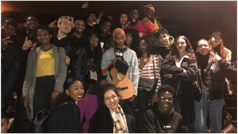 Jaden Smith's 'Sad' Expression After Watching Black Panther with Fans Is Making Us Curious