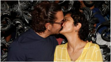 Is Aamir Khan and Kiran Rao's Birthday Kiss A Planned Stunt to Dispel Rumours of Their Broken Marriage?