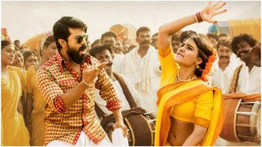 Rangasthalam Movie Review: Ram Charan and Samantha Akkineni Deliver Winning Performances in This Period Thriller, Say Critics
