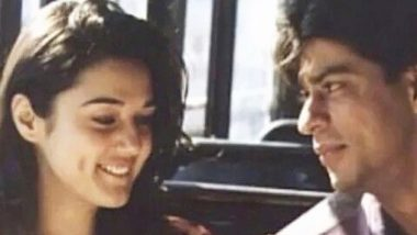Preity Zinta is Nostalgic About Her Throwback Pic with Shah Rukh Khan in Dil Se and So Are We!