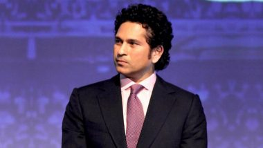 Batting Legend Sachin Tendulkar Stresses for Inclusion of Sports in School Syllabus