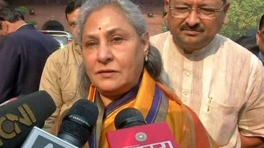 Hyderabad Vet Rape and Murder Case: Jaya Bachchan Says Rapists Should Be Lynched in Full Public Glare
