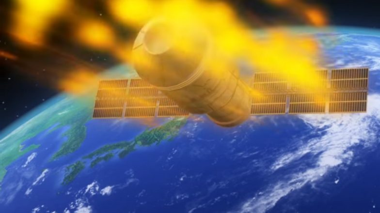 Falling Chinese satellite expected to re-enter atmosphere Sunday