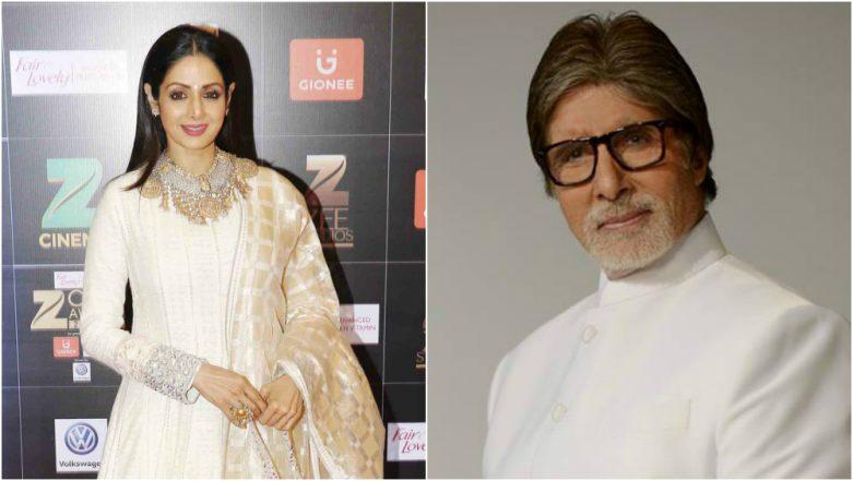 Amitabh Bachchan Dedicates a Heartfelt Poem to Sridevi And it is Heartbreakingly True!