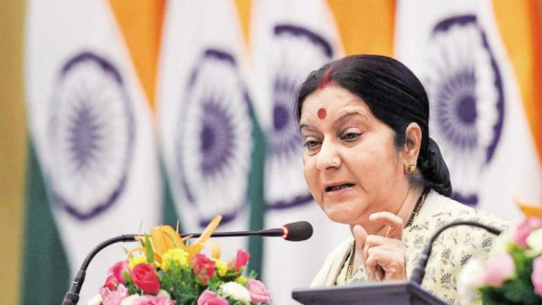 Terrorist Affiliation with Canada Restaurant Explosion Not Confirmed: Sushma Swaraj