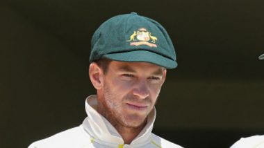 Tim Paine Comes Out to Bat With Single Batting Glove During Tasmania vs New South Wales Match