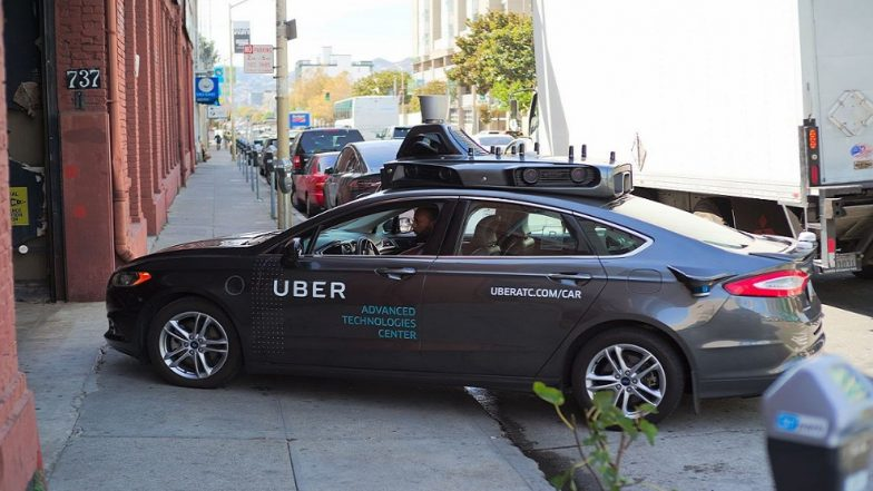 Uber suspends self-driving operations after vehicle hits, kills pedestrian in Arizona