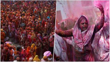 Holi 2018: Live Streaming of the Festival of Colours From Barsana, Mathura & Vrindavan