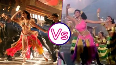 Jacqueline Fernandez Vs Madhuri Dixit : Who is Sexier With The Iconic Ek Do Teen Step? VIDEO!