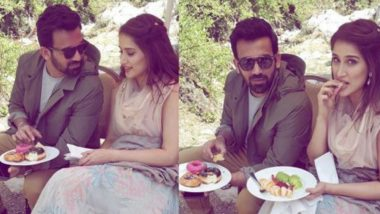 Sagarika Ghatge Opts for Fruit Plate While Zaheer Khan Enjoys Doughnuts in This Cute Picture