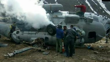 Indian Air Force's Mi-17 V-5 Helicopter Crashes Near Kedarnath Temple, Six injured
