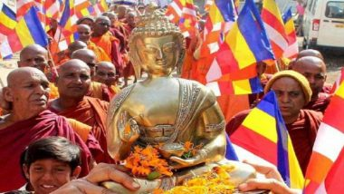Over 300 Dalits Including Una Assault Victims Embrace Buddhism in Gujarat
