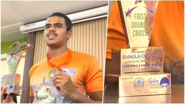 Sampanna Ramesh Shelar, 17-Year-Old Swimmer Sets World Record to Double Cross the Bangla Channel
