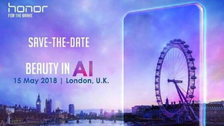 Honor 10 with AI Camera Likely to Launch on May 15; Expected Price, Features and Specifications