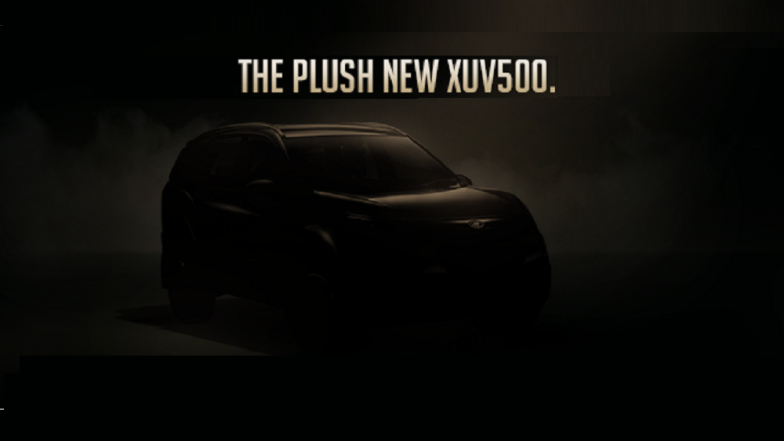 Mahindra XUV500 Facelift Launching Today in India; Watch LIVE Stream and Online Telecast of New 2018 XUV500