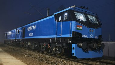 First All-Electric High-Speed Train 'Humsafar Express' to Be Flagged Off by PM Narendra Modi at Champaran Event in Bihar