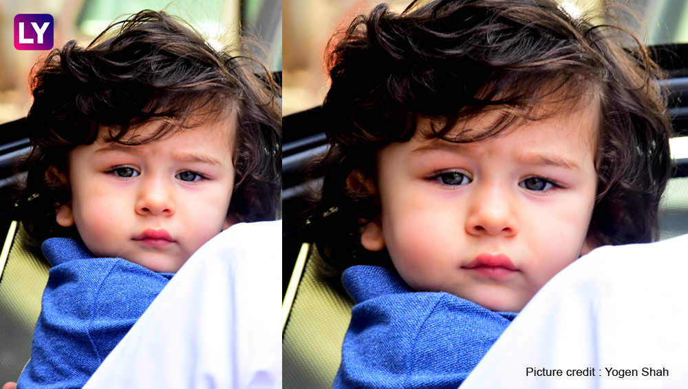 Cousins Taimur Ali Khan and Inaaya Naumi Kemmu enjoy by the poolside