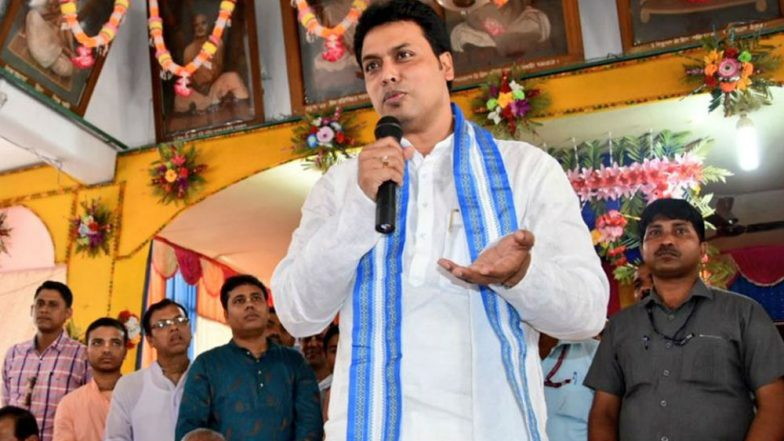 Hindi To Replace Kokborok in News Bulletins: CPI(M) & Congress Slam BJP Led Biplab Deb's Tripura Government's Alleged Decision