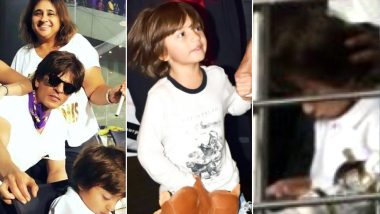 IPL 2018: While the Internet Is Going Berserk over Shah Rukh Khan and Suhana's Pictures, People Actually Forgot to Notice Abram's New Haircut