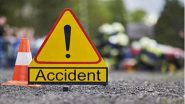 UP Road Accident: 8 Dead, 2 Injured as Sand-Laden Truck Overturns on SUV in Kaushambi Area