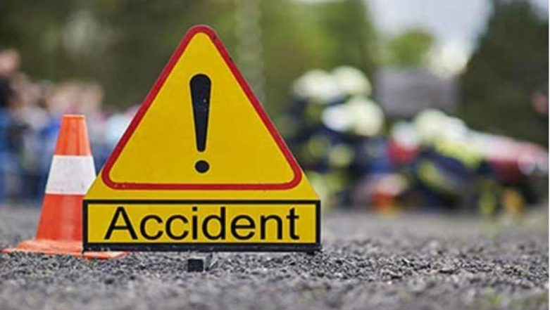 Gujarat: Speeding Car Crushed Between Two Trucks at Bhachau-Kandla Highway, 10 Passengers Killed