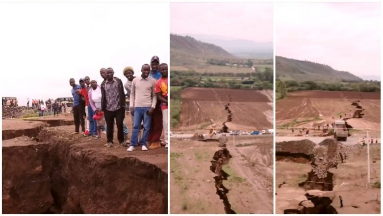 Is African Continent About to Split Into Two Landmasses? The Crack in Kenyan Territory Suggests So!