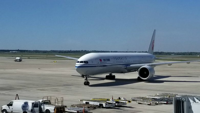 Air China Flight CA 13540 Was Forced for an Impromptu Landing After A Man Threatened to Harm Crew Members With Fountain Pen
