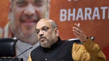 Amit Shah Has Net Worth of Rs 53.9 Lakh, Wife's Income Grew 16-Fold in 5 Years to Rs 2.3 Crore, Says BJP Chief's Lok Sabha Election 2019 Affidavit