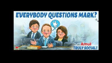 Amul Creatively Adds Question 'Mark' in Zuckerberg's Congressional Hearing