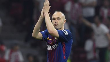 Andres Iniesta Confirms to Leave Barcelona at the End of 2017-18 La Liga
