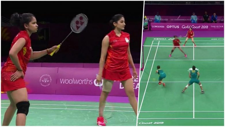 Ashwini Ponnappa and N Sikki Reddy Bag Bronze Medal in Badminton Women's Doubles at CWG 2018