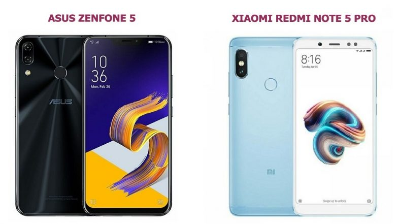 Asus Zenfone 5 Vs Xiaomi Redmi Note 5 Pro: Price, Features, Specifications & Camera - Comparison