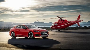 Virat Kohli Launches New Generation Audi RS 5 Coupe in India at Rs 1.10 Cr