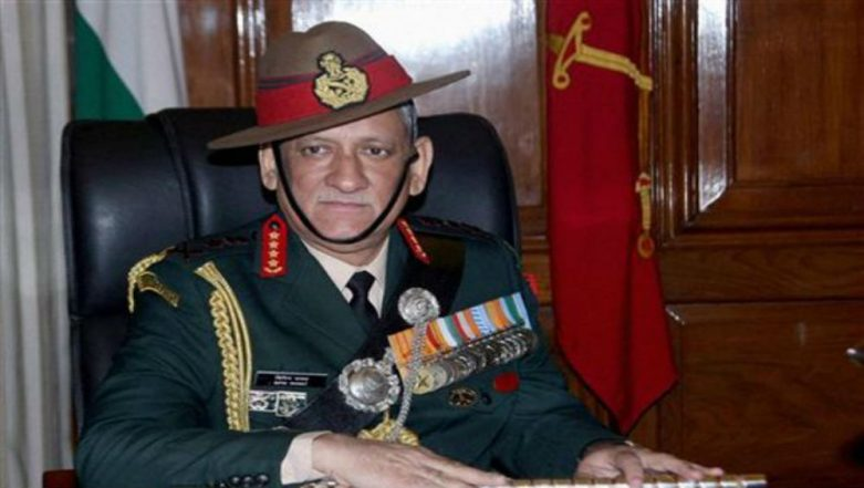 Army Chief Gen Bipin Rawat Wants Illegal Immigrants 'Deported', Says Parties Supporting Them 'Undermining National Security'