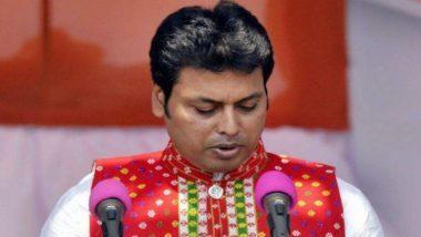 Tripura CM Biplab Kumar Deb Urges New Waterways with Bangladesh